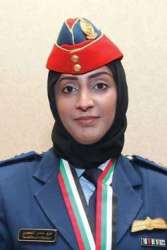 Major Mariam Al Mansouri