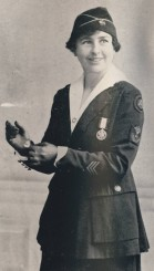 Chief Operator Grace Banker received the Distinguished Service Medal