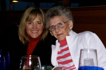 Michelle Sweeney Frost and her mom, Olive Sweeney
