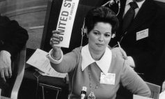 Shirley Temple Black, US delegate to the United Nations