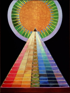 "From the ""Altarpiece"" series by Hilma af Klint"