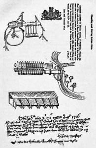 Sybilla Master's invention, c 1715